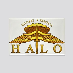 Golden Halo Badge Rectangle Magnet